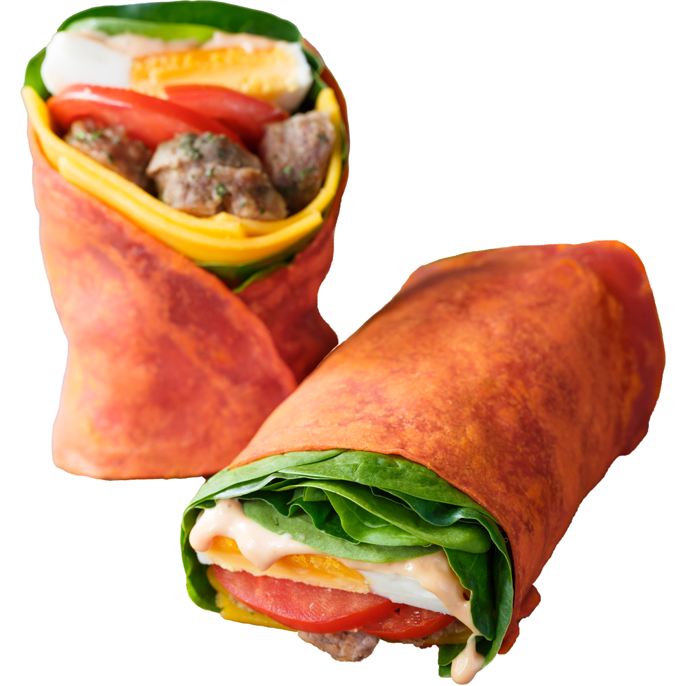 Sausage Egg Wrap