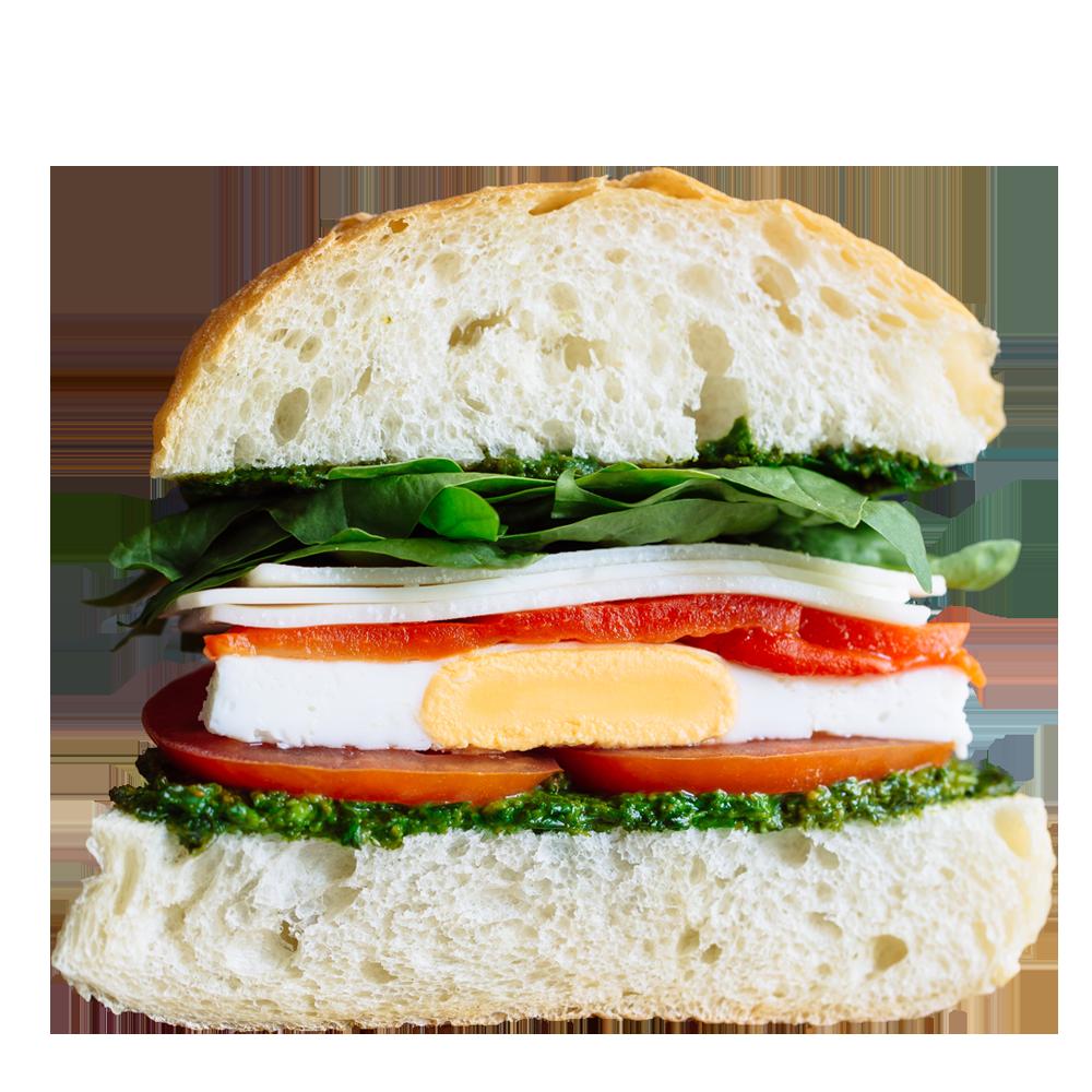 Vegetarian Egg Ciabatta